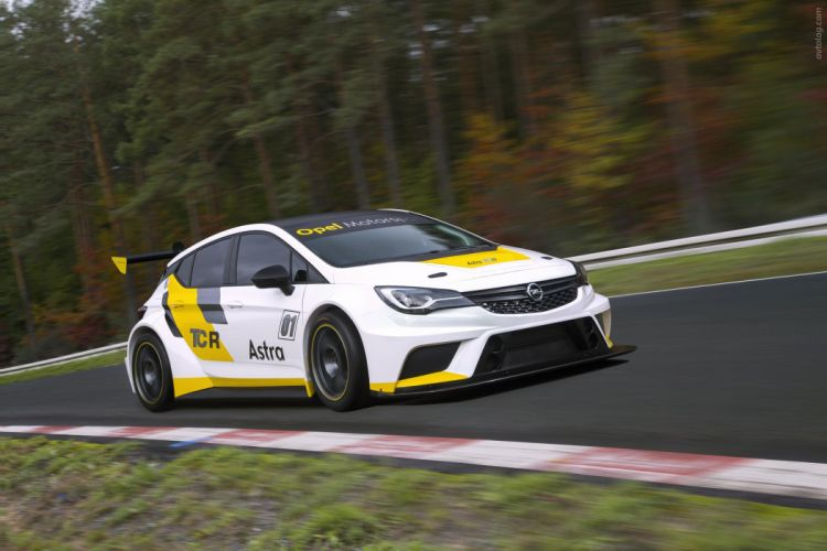 2016 Opel Astra TCR rally race racing wallpaper