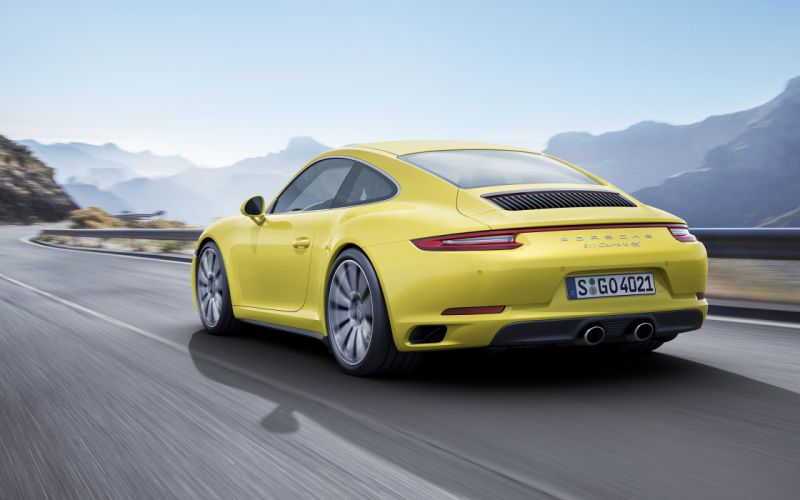 2016 Porsche 911 Carrera 4 wallpaper