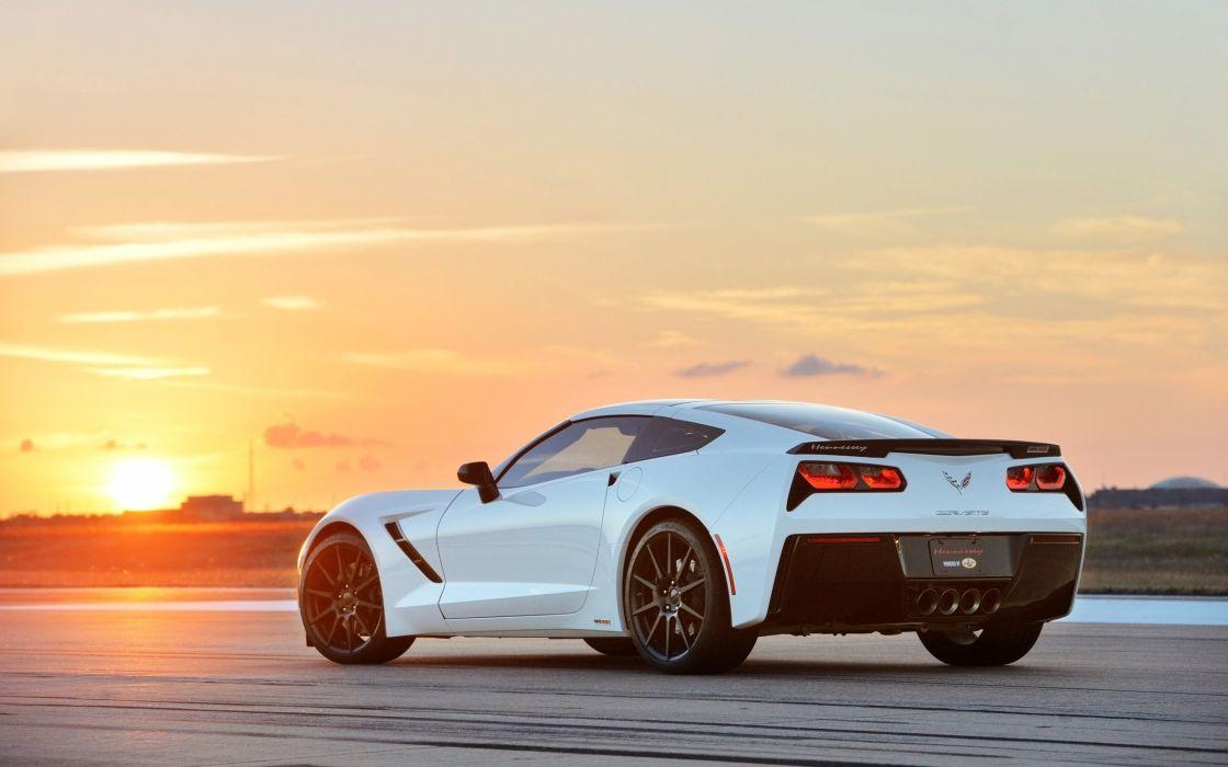 2014 Hennessey HPE500 Corvette Stingray chevrolet muscle supercar sting ray wallpaper