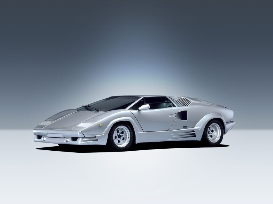 1989 Lamborghini Countach supercar wallpaper