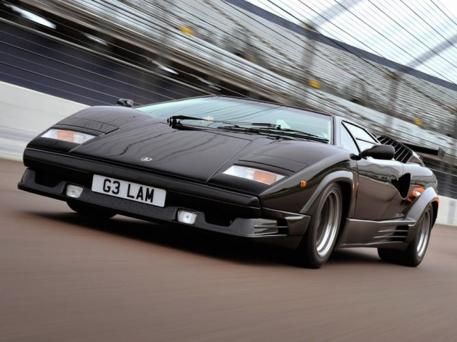 1989 Lamborghini Countach supercar wallpaper