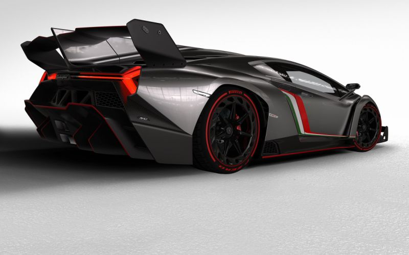 2013 Lamborghini Veneno supercar wallpaper