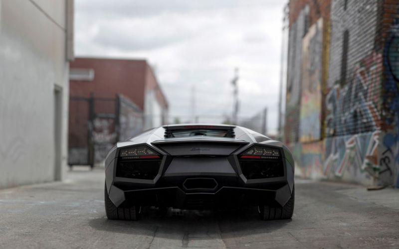2008 Lamborghini Reventon supercar wallpaper