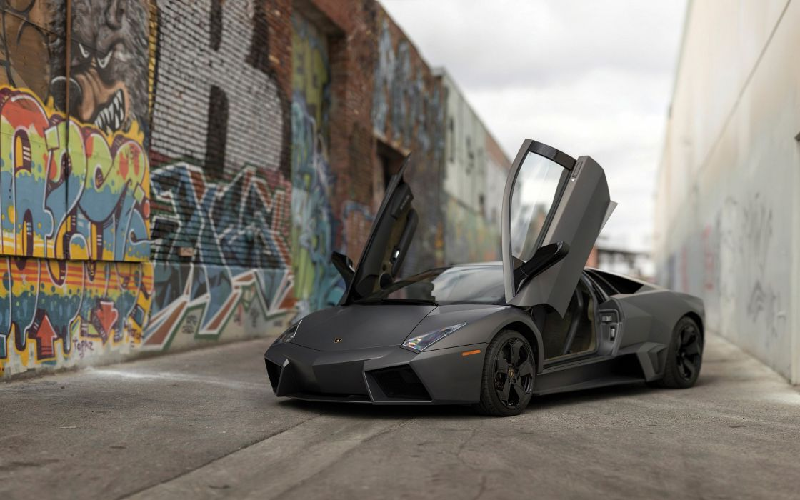 2008 Lamborghini Reventon supercar wallpaper