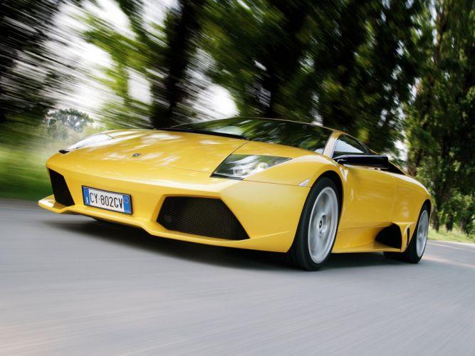 2006 Lamborghini Murcielago LP640 supercar wallpaper