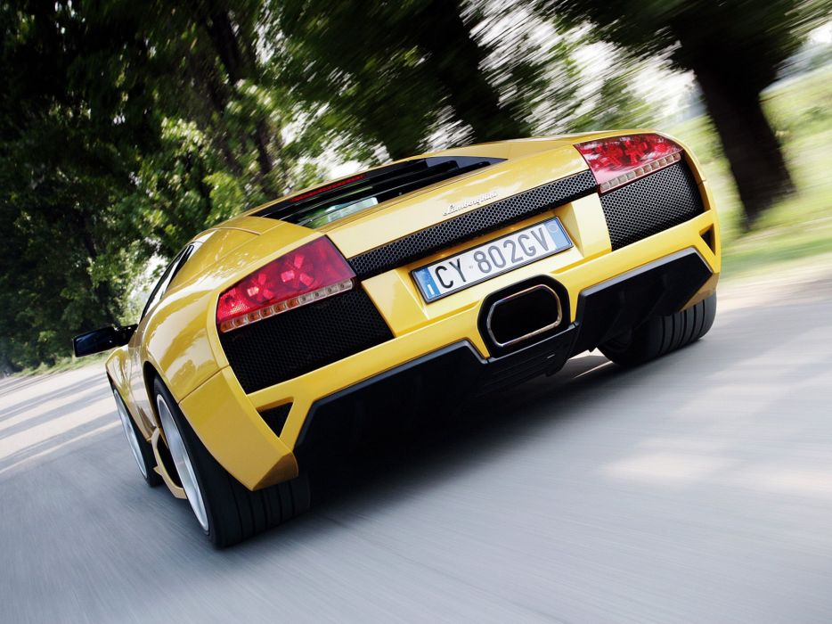 2006 Lamborghini Murcielago LP640 supercar wallpaper