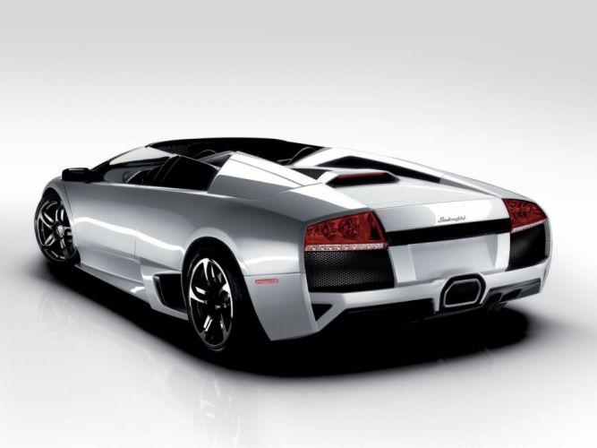 2007 Lamborghini Murcielago LP640 Roadster supercar wallpaper