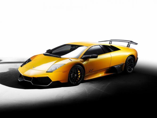 2009 Lamborghini Murcielago LP670-4 S-V supercar wallpaper