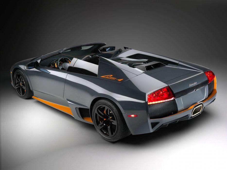 2009 Lambo Murcielago LP650-4 Roadster supercar wallpaper