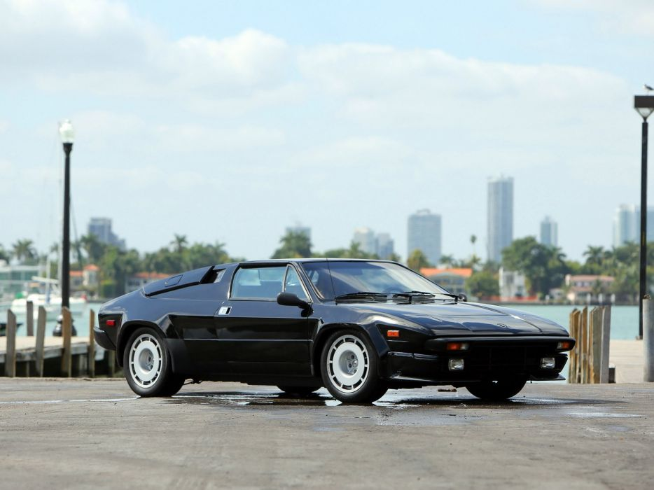 1984 Lamborghini Jalpa P350 supercar wallpaper
