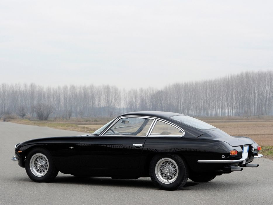 1966 Lamborghini 400 G-T classic supercar wallpaper