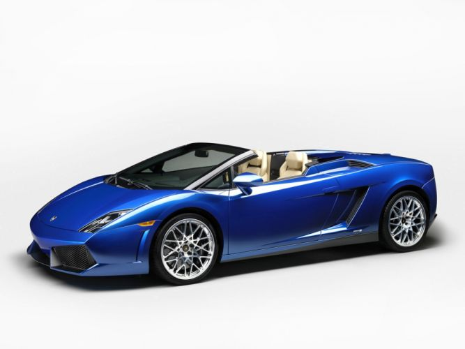 2012 Lamborghini Gallardo LP550-2 Spyder supercar wallpaper
