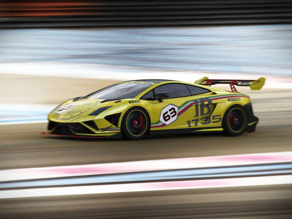 2013 Lamborghini Gallardo LP570-4 Super Trofeo supercar race racing wallpaper