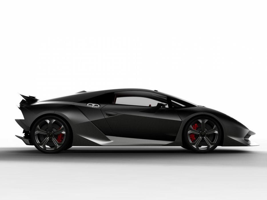 2010 Lamborghini Sesto Elemento Concept supercar wallpaper