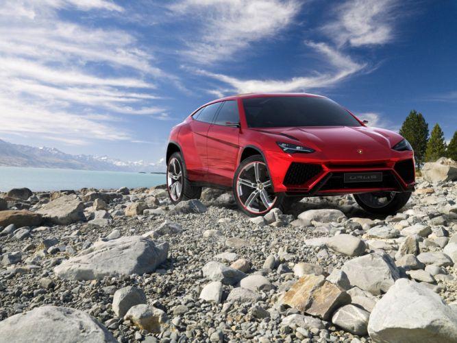 2012 Lamborghini Urus Concept supercar awd wallpaper
