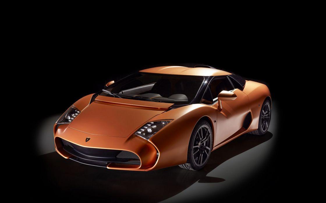 2014 Lamborghini 5-95 Zagato Concept supercar wallpaper