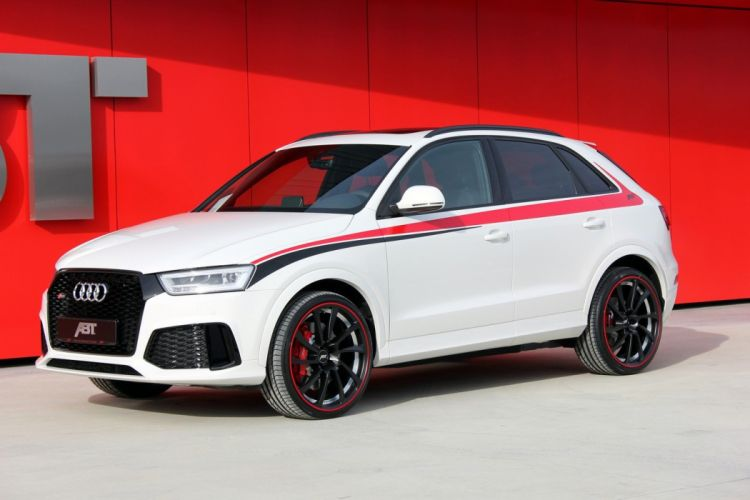 ABT Audi RS Q3 cars white suv modified wallpaper