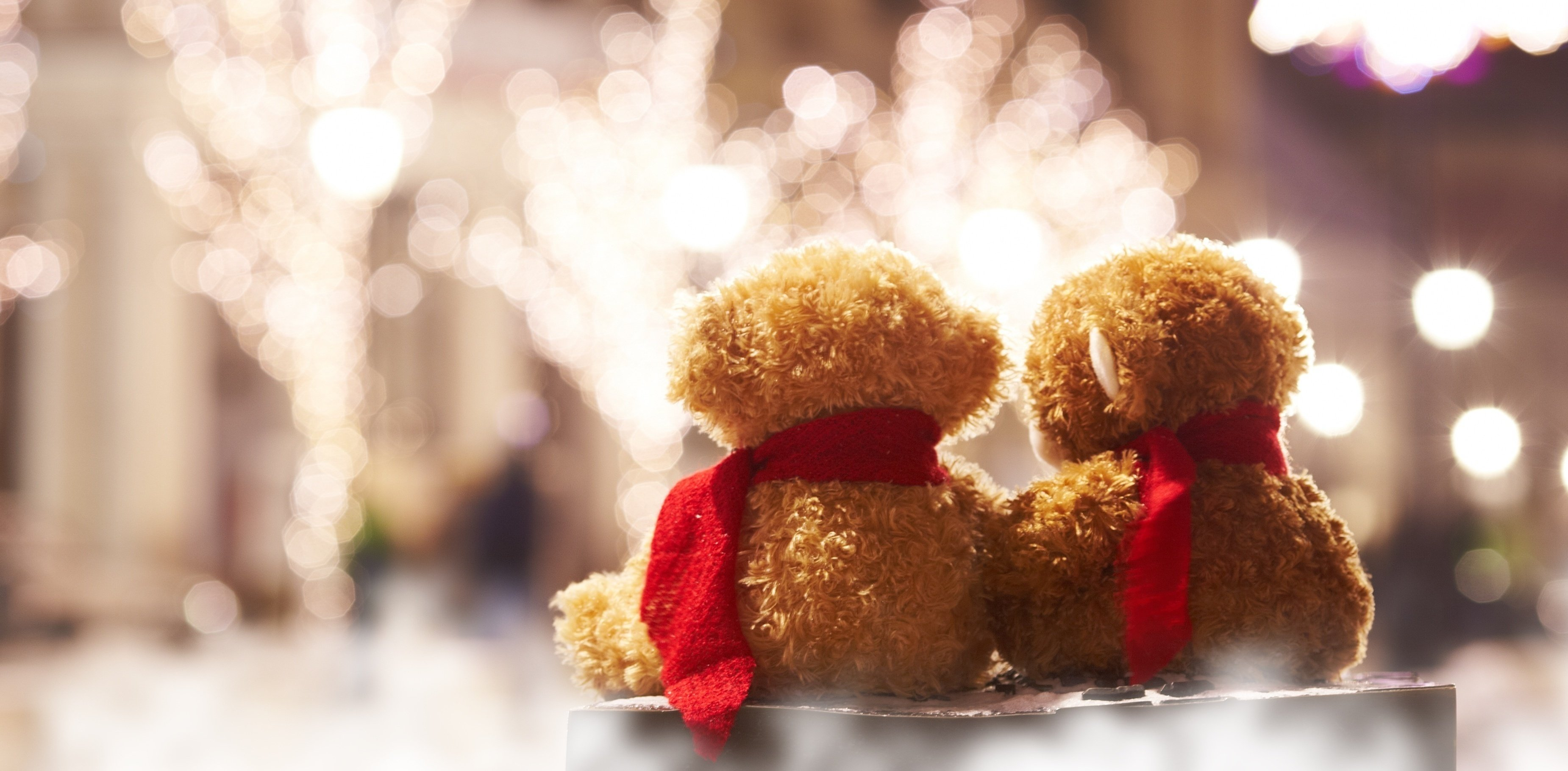 Wallpaper Teddy Bear Couple