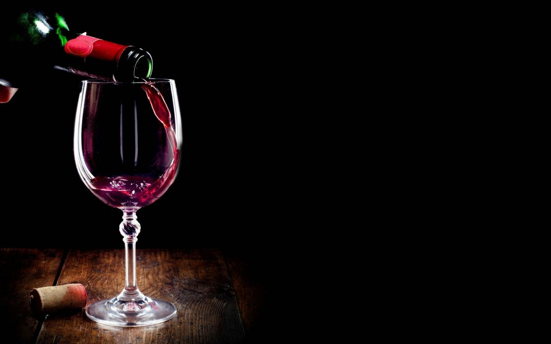 Glass Of Wine Alcohol Wallpaper 2560x1600 848773