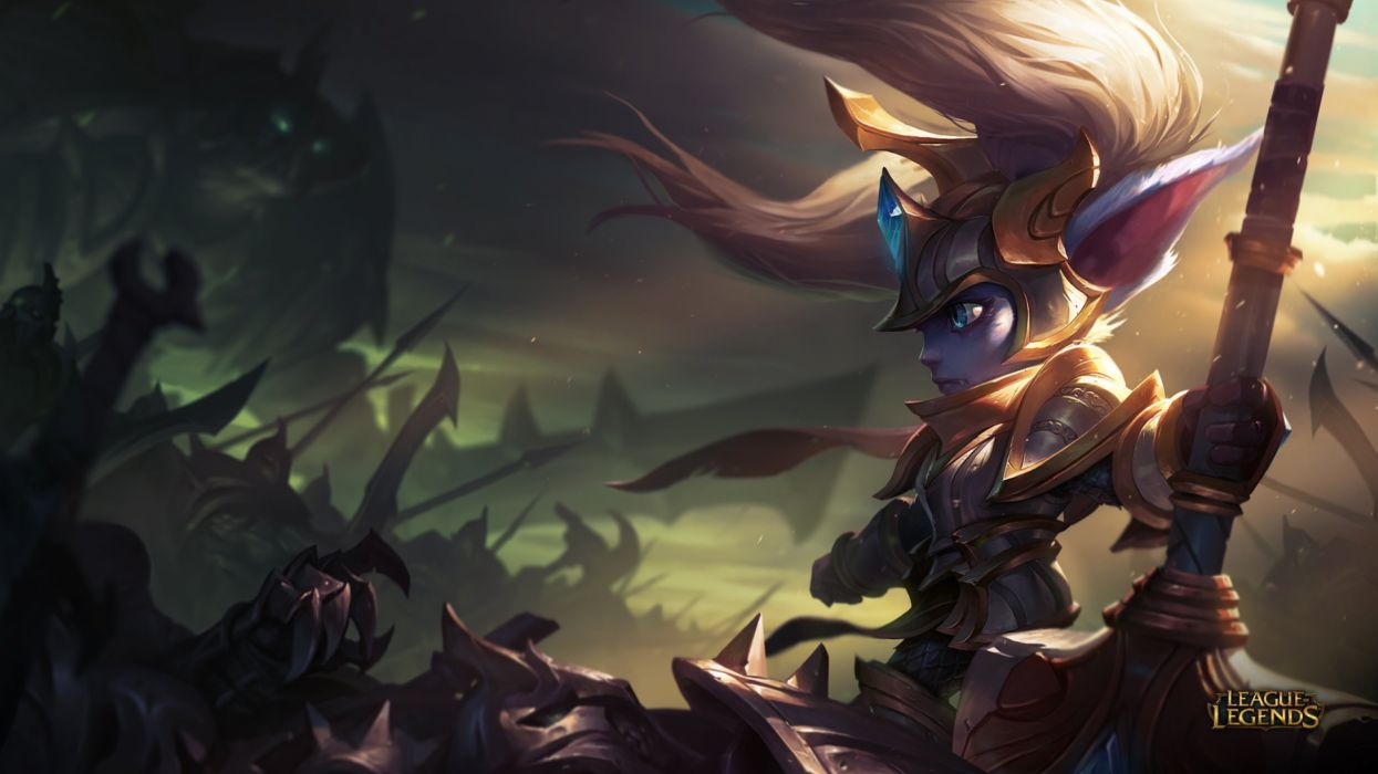 League Legends fantasy art artwork wallpaper
