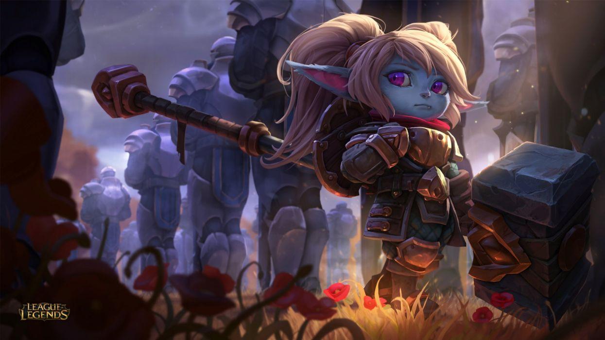 League Legends Fantasy Art Artwork Wallpaper 2560x1440 849337