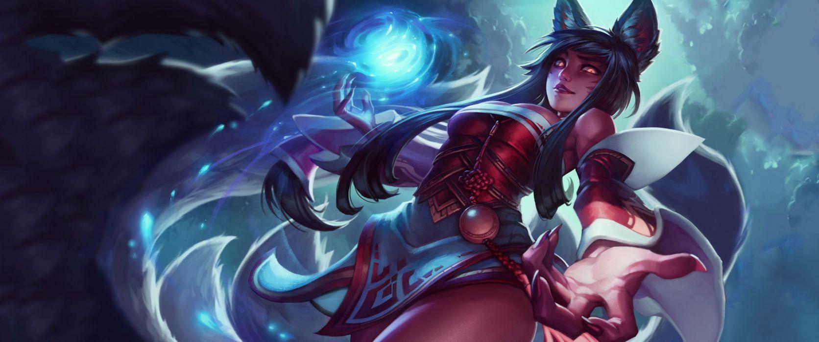 League Legends fantasy art artwork wallpaper