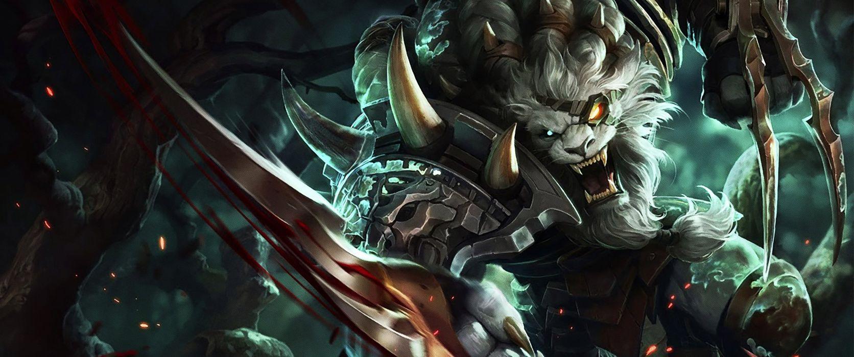 League Legends Fantasy Art Artwork Wallpaper 3440x1440 8493 Wallpaperup