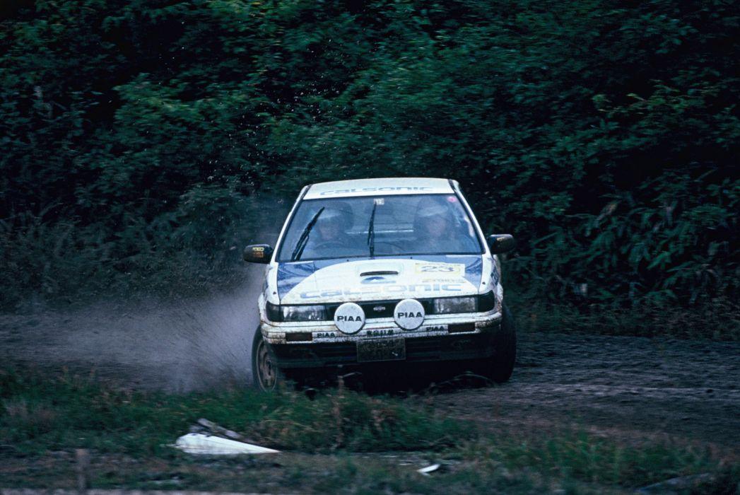 1989 Nismo Nissan Bluebird SSS-R U12 rally race racing wallpaper