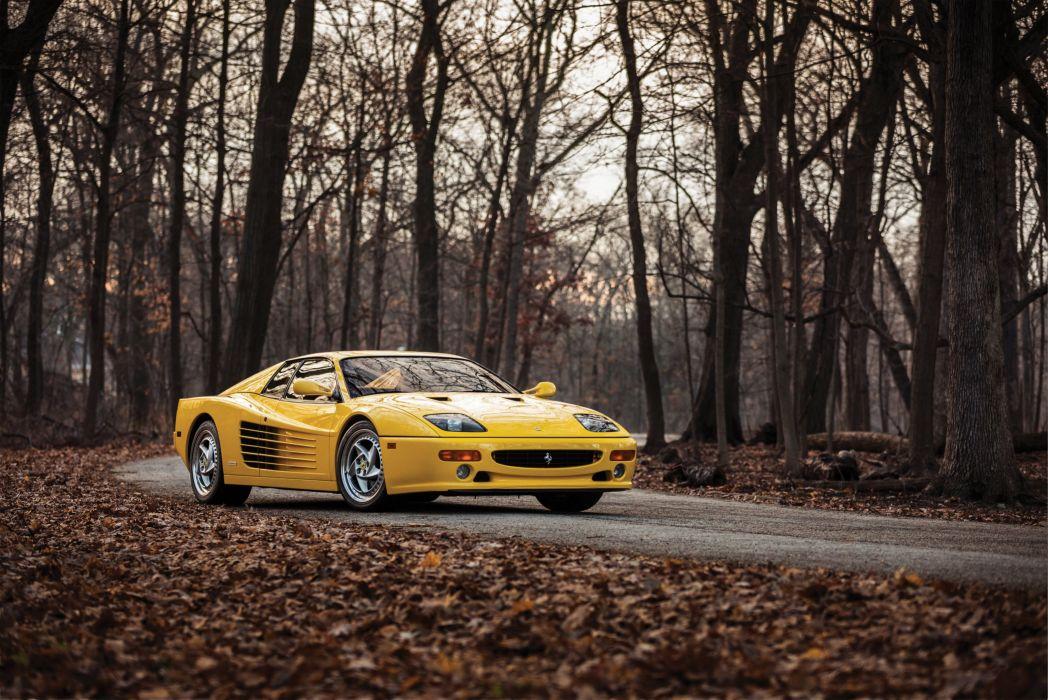 1996 Ferrari F512 M US-spec Pininfarina supercar wallpaper