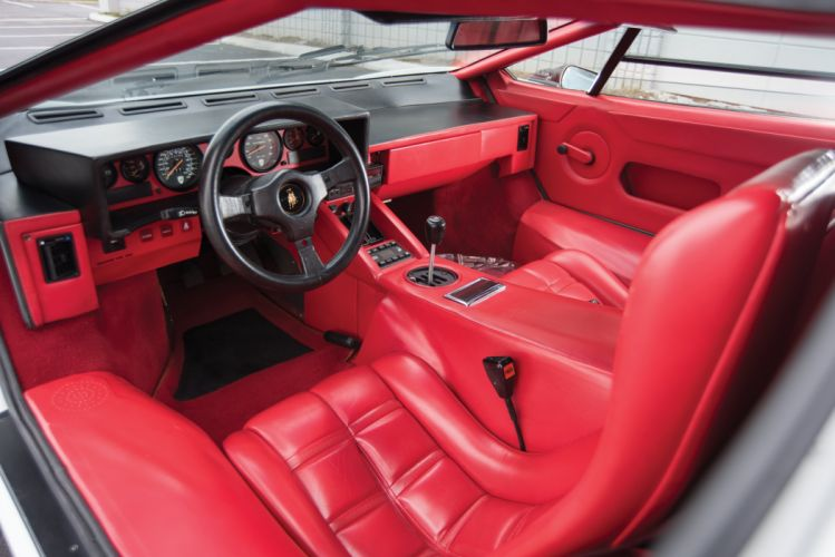 1988 Lamborghini Countach LP5000 S Quattrovalvole US-spec Bertone supercar wallpaper