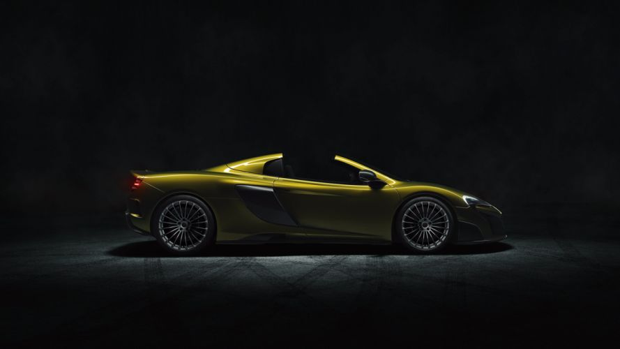 2016 McLaren 675LT Spider supercar wallpaper