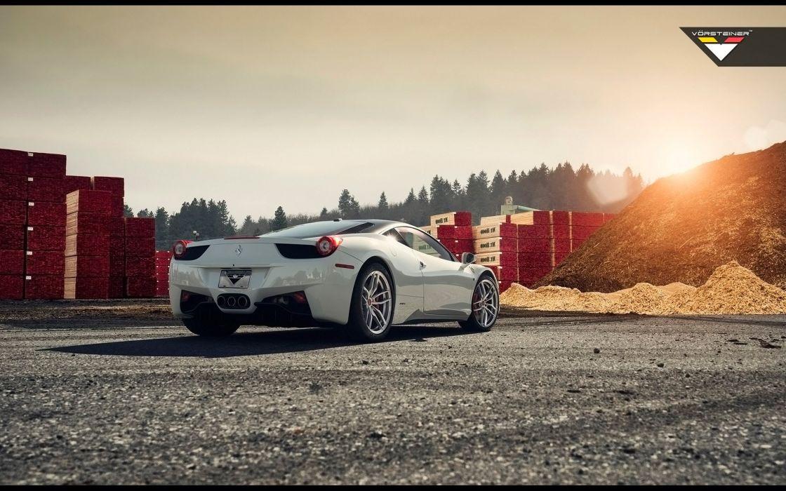 2015 Vorsteiner Ferrari 458 Italia V-FF 105 supercar wallpaper