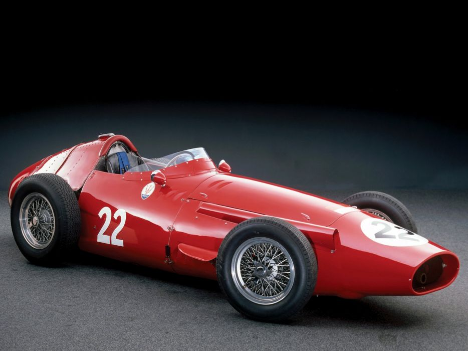 1954 Maserati 250F race racing retro formula wallpaper