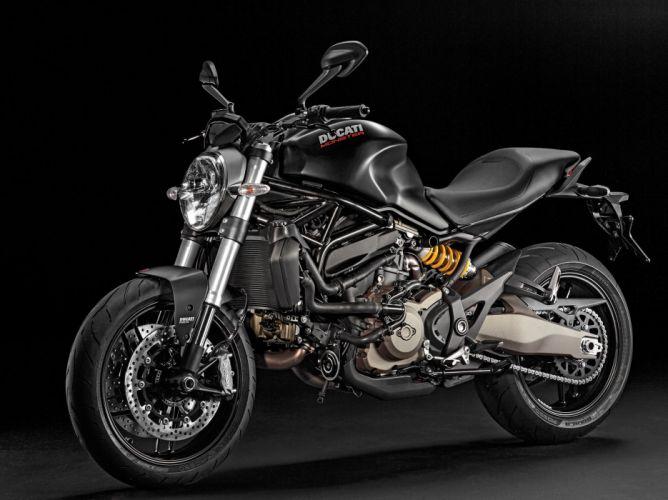 2016 Ducati Monster 821 Dark bike motorbike motorcycle wallpaper