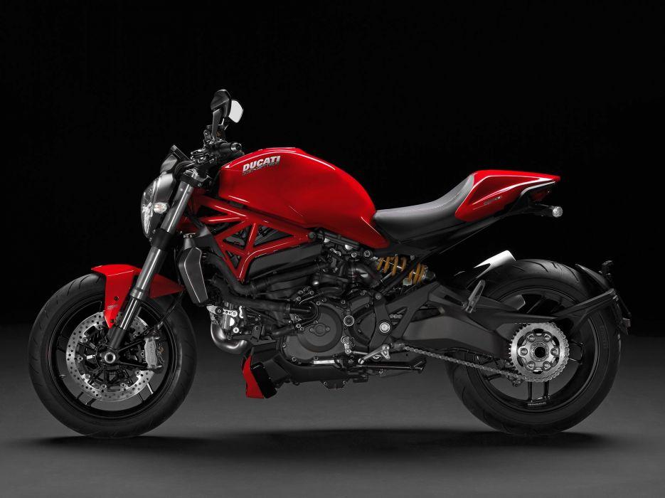 2016 Ducati Monster 1200 bike motorbike motorcycle wallpaper