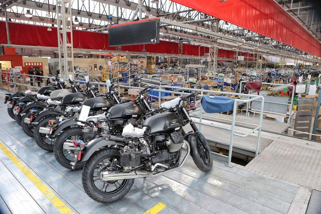 2016 Moto Guzzi V7II Stone ABS bike motorbike motorcycle v-7 wallpaper