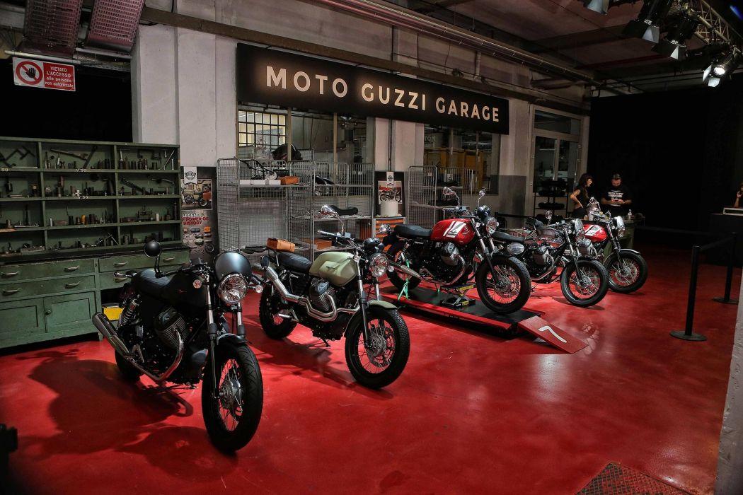 2016 Moto Guzzi V7II Scrambler ABS bike motorbike motorcycle v-7 wallpaper