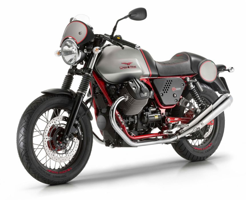 2016 Moto Guzzi V7II Racer ABS bike motorbike motorcycle v-7 wallpaper