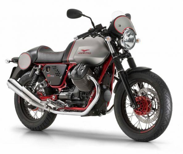 2016 Moto Guzzi V7II Racer ABS bike motorbike motorcycle v-7 wallpaper