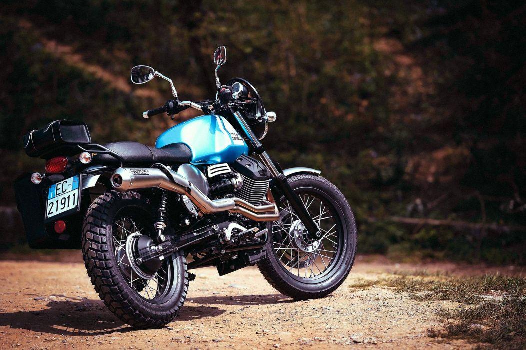2016 Moto Guzzi Garage V7II Scarmbler Kit bike motorbike motorcycle wallpaper