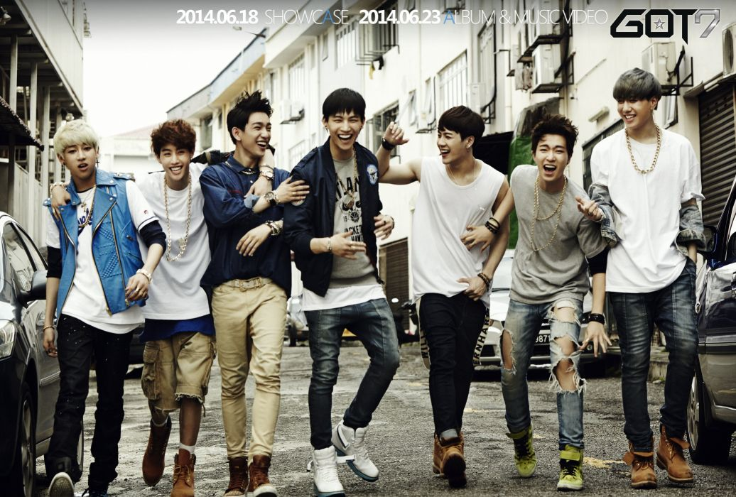 GOT7 kpop pop dance k-pop poster wallpaper