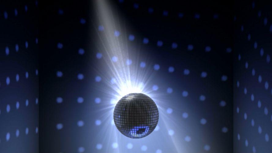 3D animation disco mirror ball wallpaper