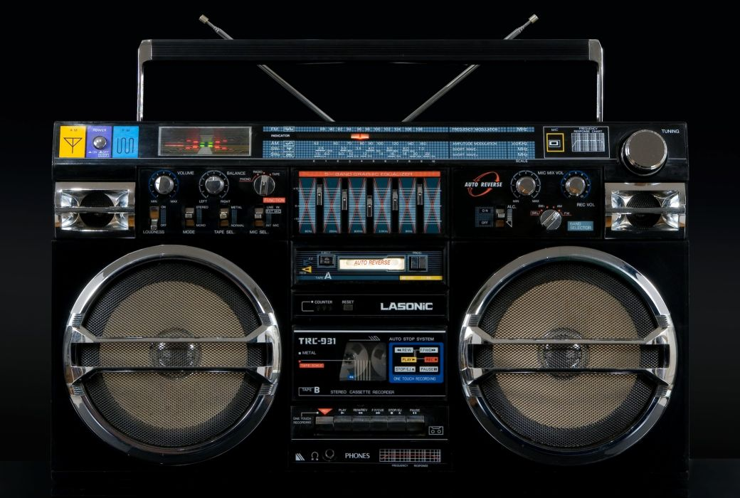 trc-931 lasonic retro cassette classic radio stereo wallpaper