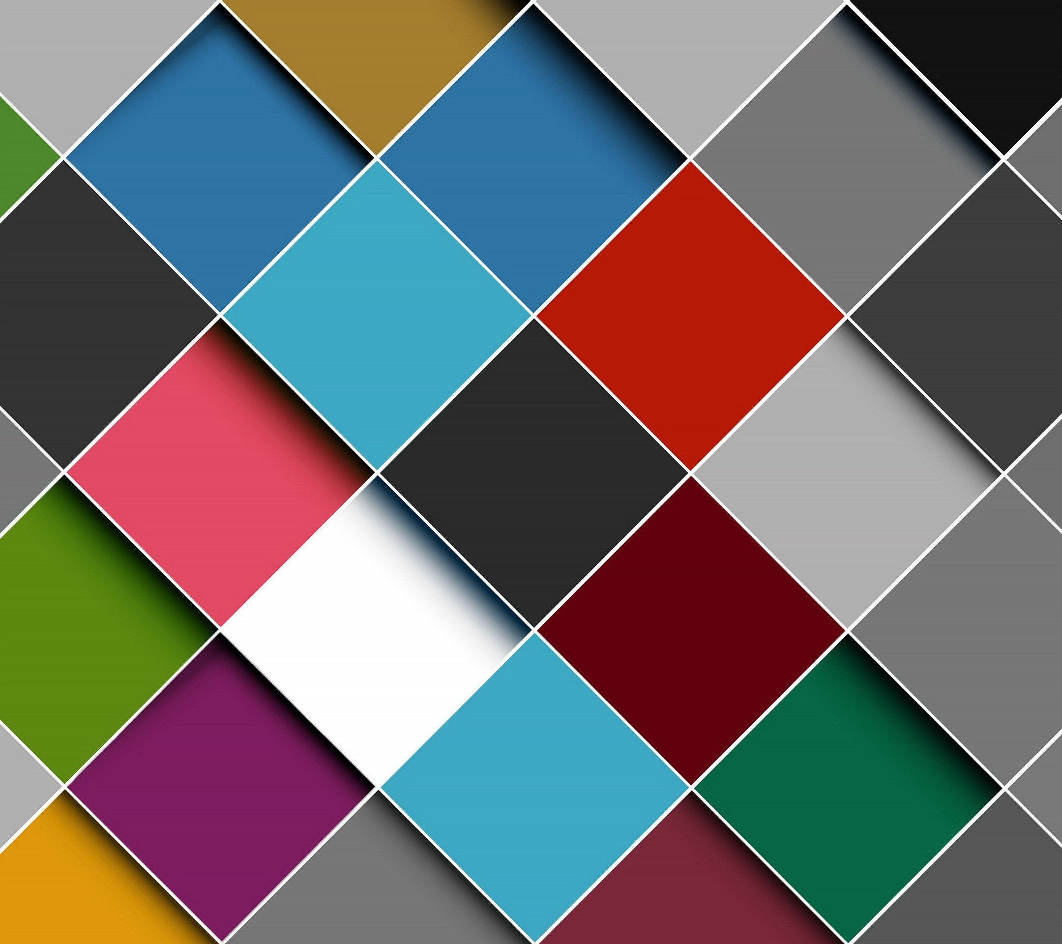 interior colorful wallpaper right - photo #39
