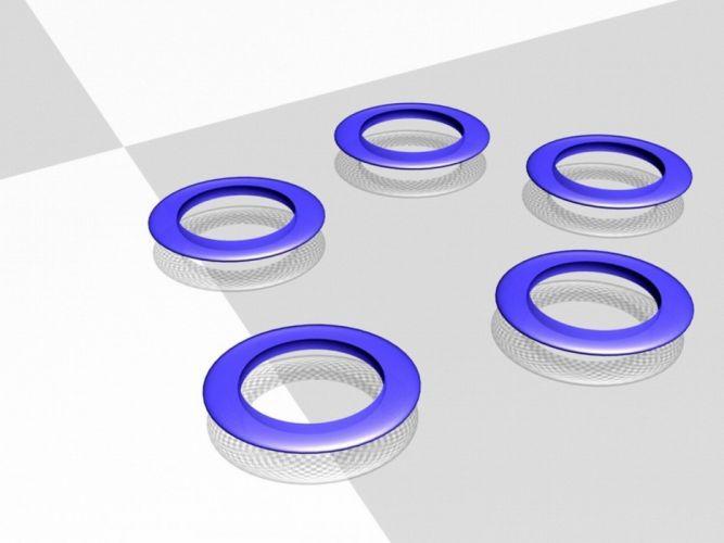 Five rings wallpaper