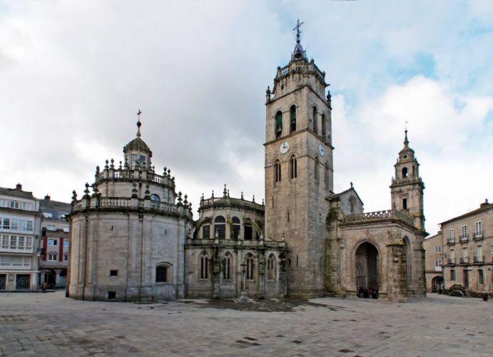 castillo arquitectura ciudad wallpaper