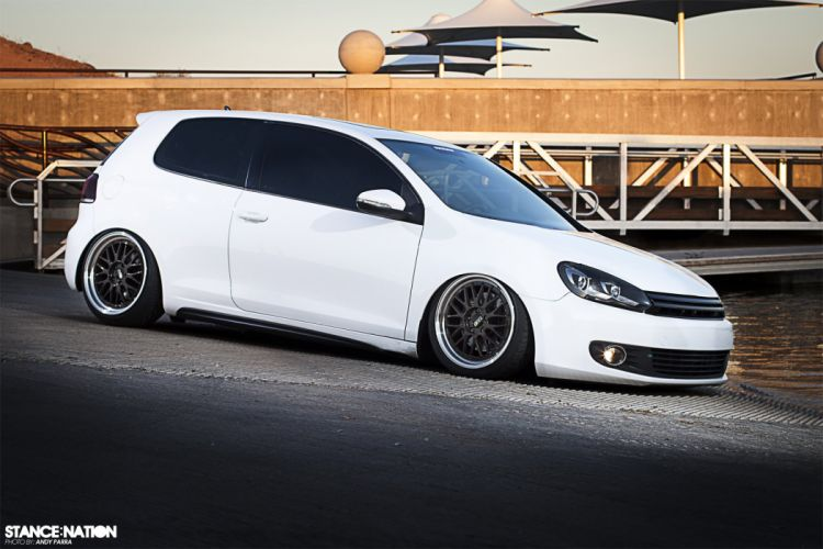 Volkswagen GTI custom tuning wallpaper