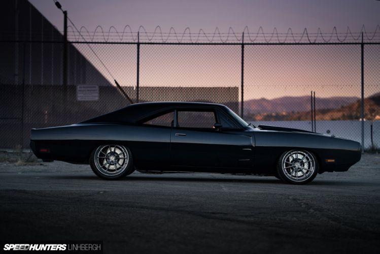 1970 Dodge Charger custom hot rod rods mopar muscle classic wallpaper