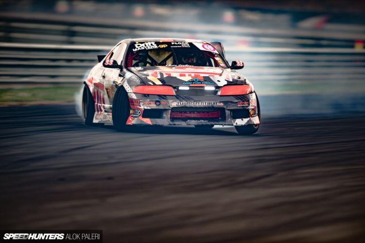 Nissan R33 Rudskogen Motorsenter Skyline custom tuning race racing drift wallpaper