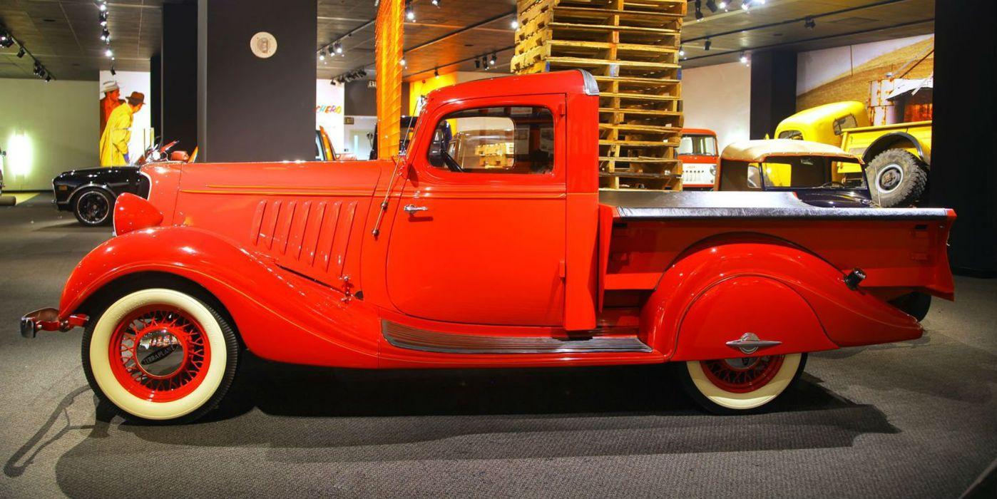 HUDSON PICKUP truck retro wallpaper